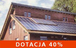 Fotowoltaika- Dotacja 40%