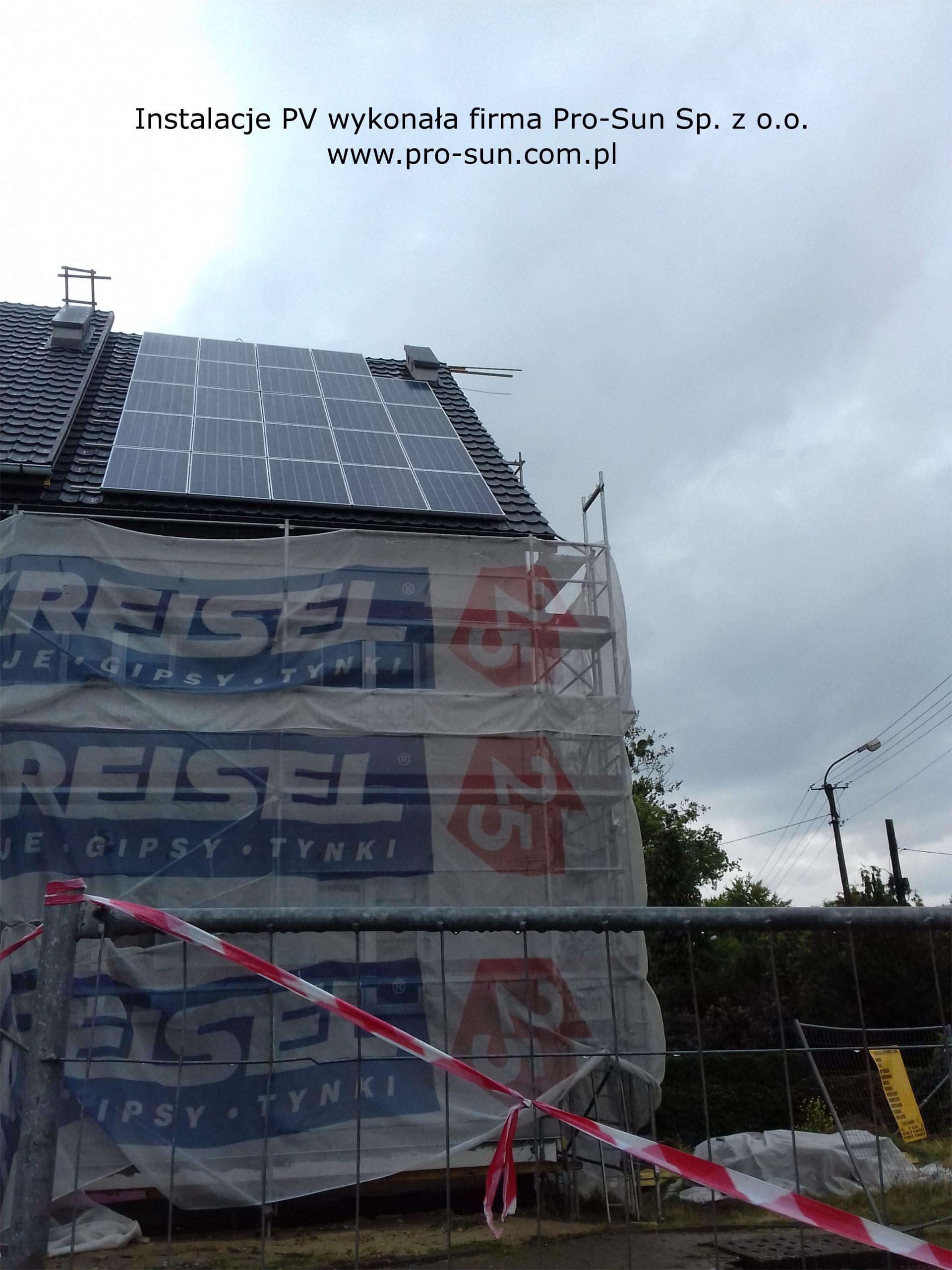 Łódź- zainstalowane ogniwa solarne