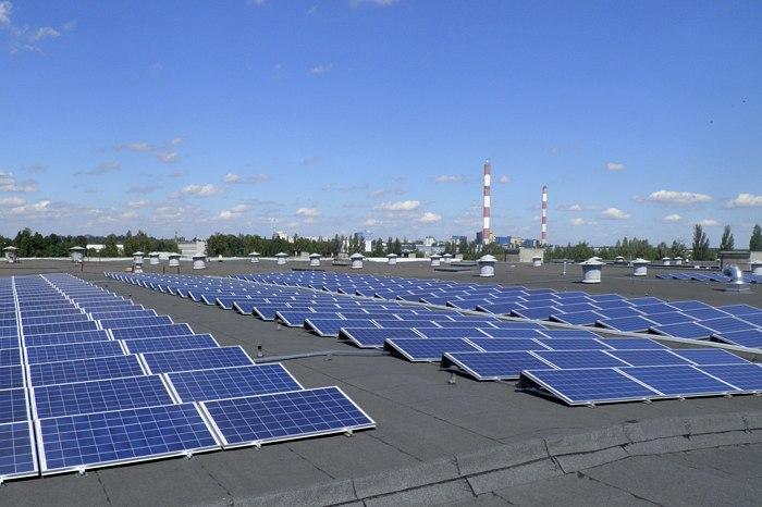 Ogniwa solarne w Łodzi