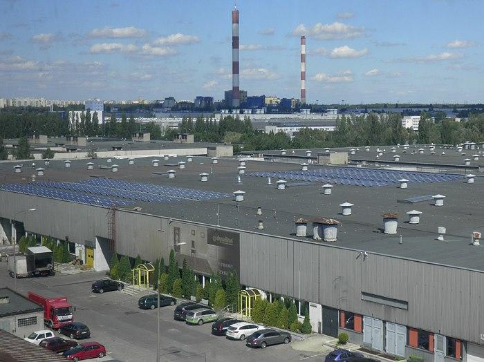 Łódzkie- zaprojektowana instalacja solarna na dachu