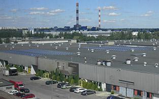Zamontowane ogniwa solarne w Łodzi
