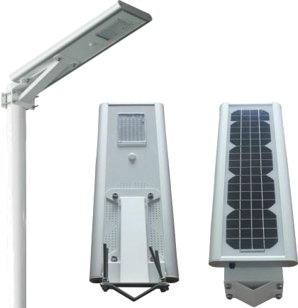 Lampa solarna led z ogniwami fotowoltaicznymi