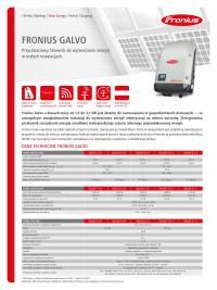 Inwerter Fronius Galvo