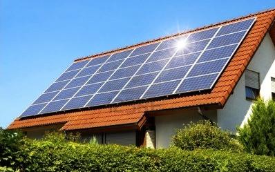 Ogniwa solarne na dachu