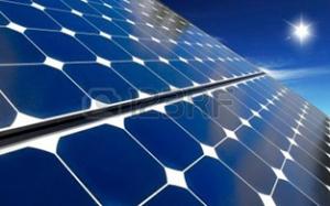 Ogniwa solarne - wizualizacja montażu