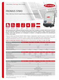 Inwerter Fronius Symo