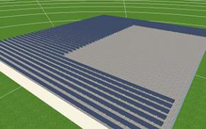 Wizualizacja paneli solarnych na dachu w Łodzi